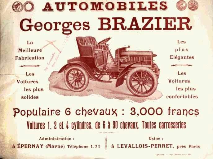 Automobiles Georges BRAZIER Brazie10