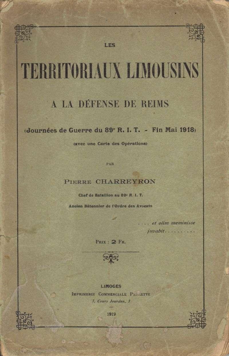 La Grande Guerre - 1ère Guerre Mondiale - 1914-1918 Charre10