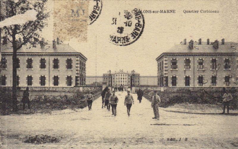 Casernes de CHÂLONS-sur-MARNE Corbin10