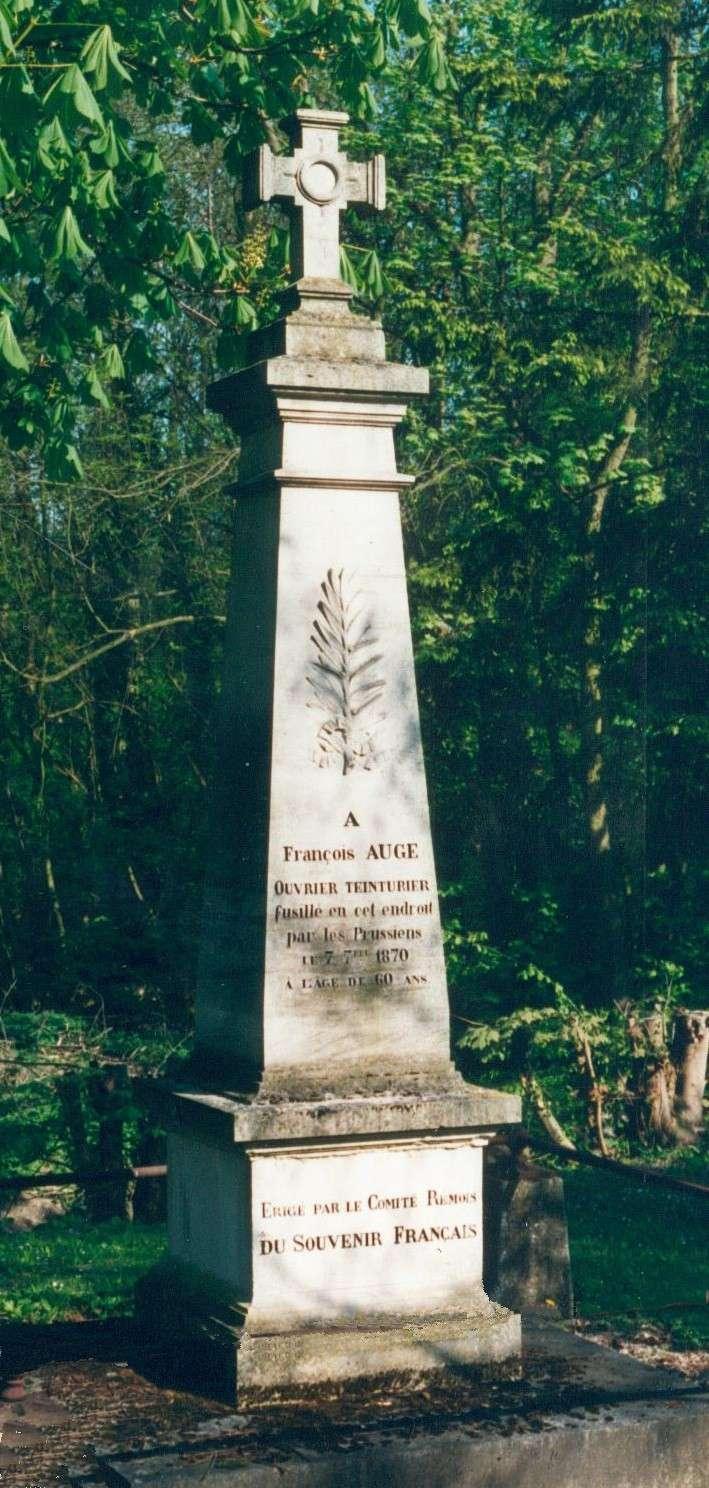 Les Victimes de Guerre de 1870 Cormon11