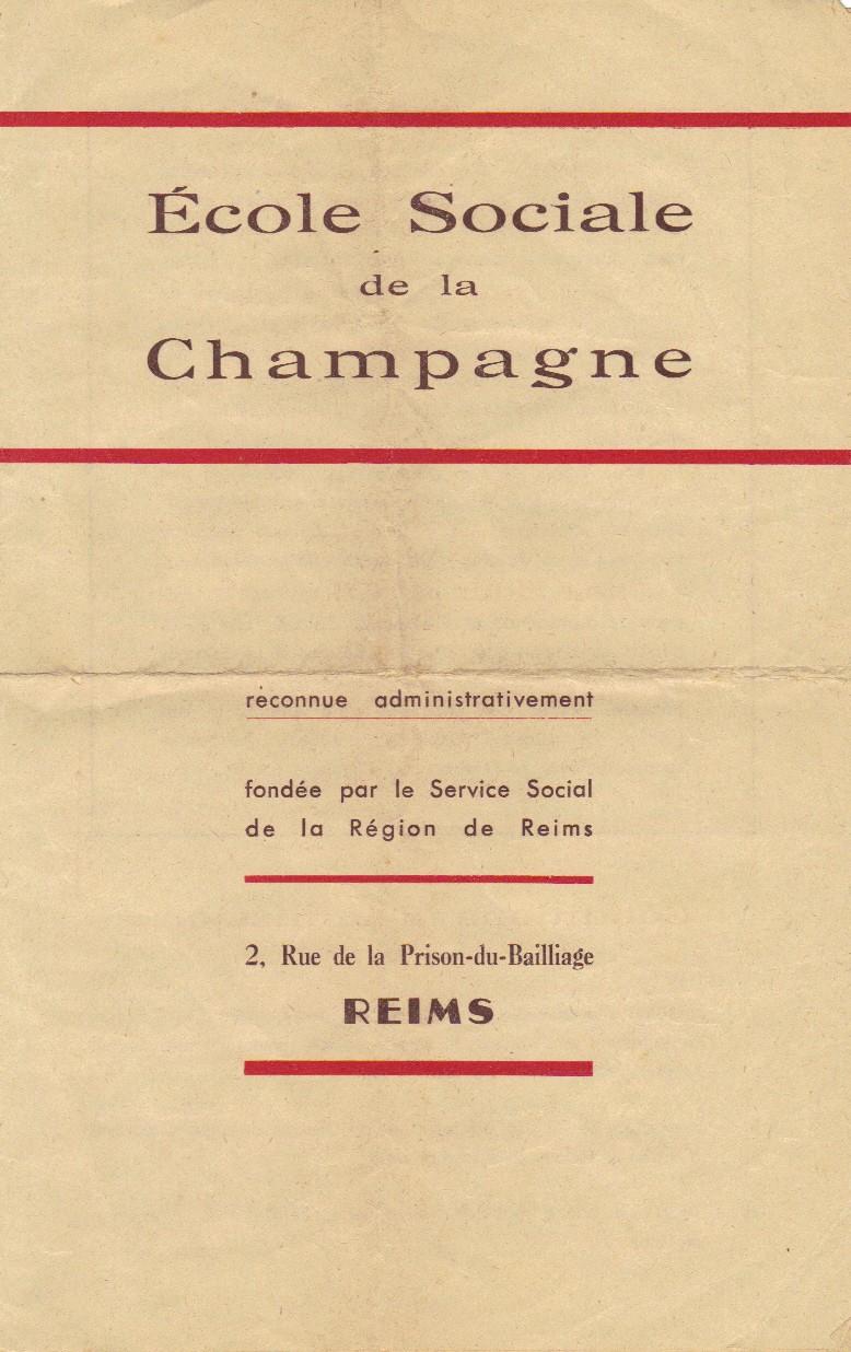 Ecole Sociale de la Champagne - REIMS Ecole_11