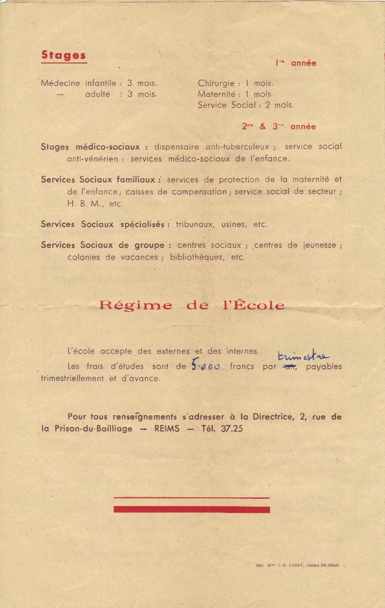 Ecole Sociale de la Champagne - REIMS Ecole_13