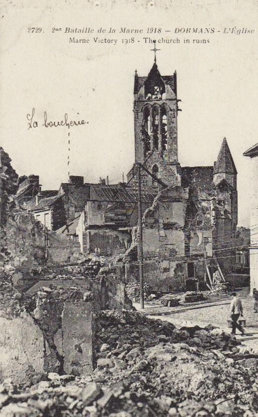 La Grande Guerre - 1ère Guerre Mondiale - 1914-1918 Eglise10