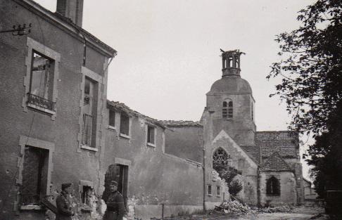 FISMES pendant la 2nde Guerre Mondiale Eglise12