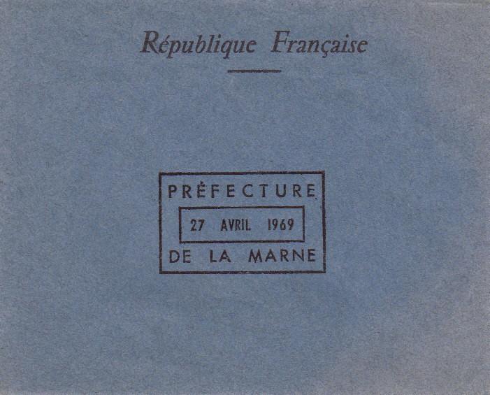 Référendum sur la Régionalisation d'Avril 1969 Envelo10
