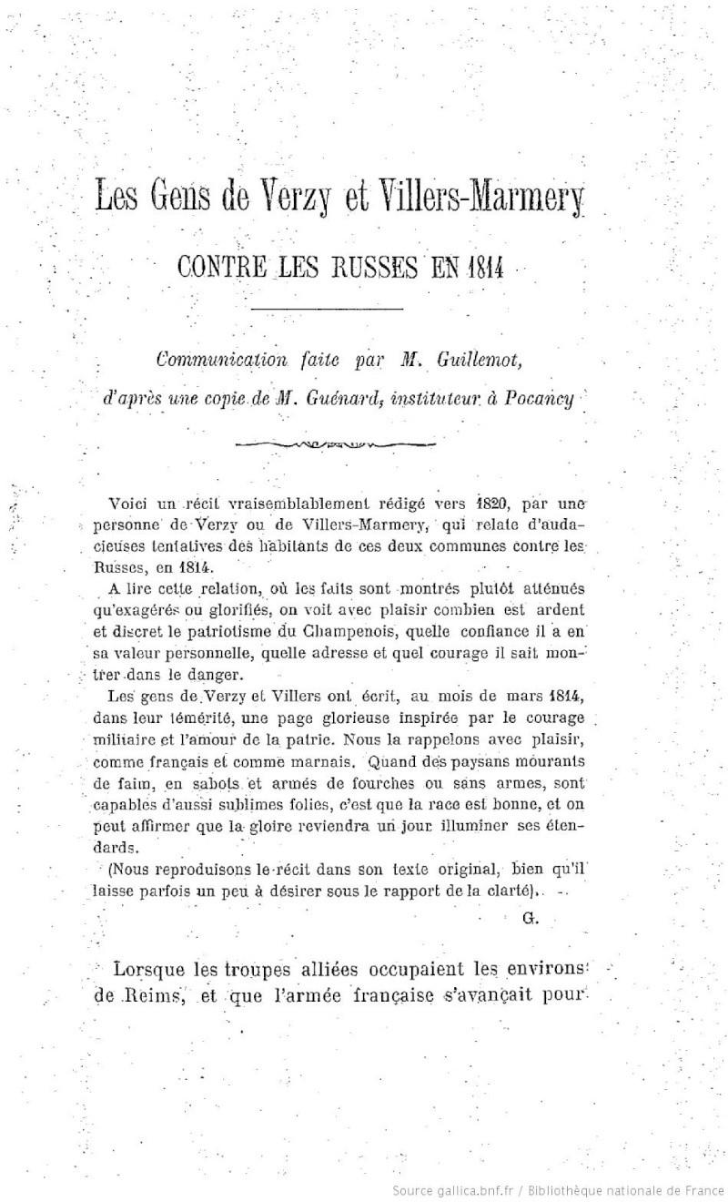 La Campagne de France - 1814 F7110