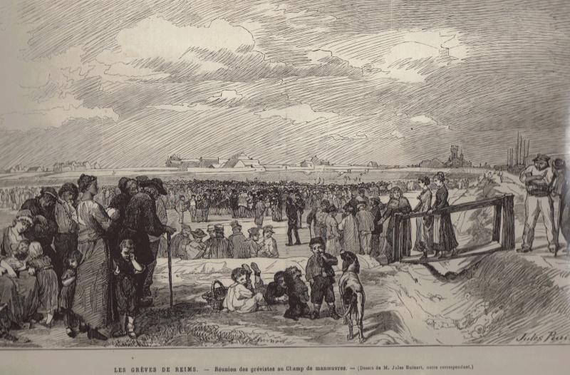 Les Grèves de 1880 à REIMS Greves10