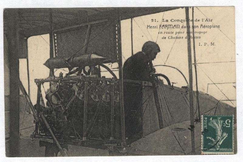 1er Vol d'Henri Farman, de Châlons à Reims - 30 octobre 1908 Henri_10