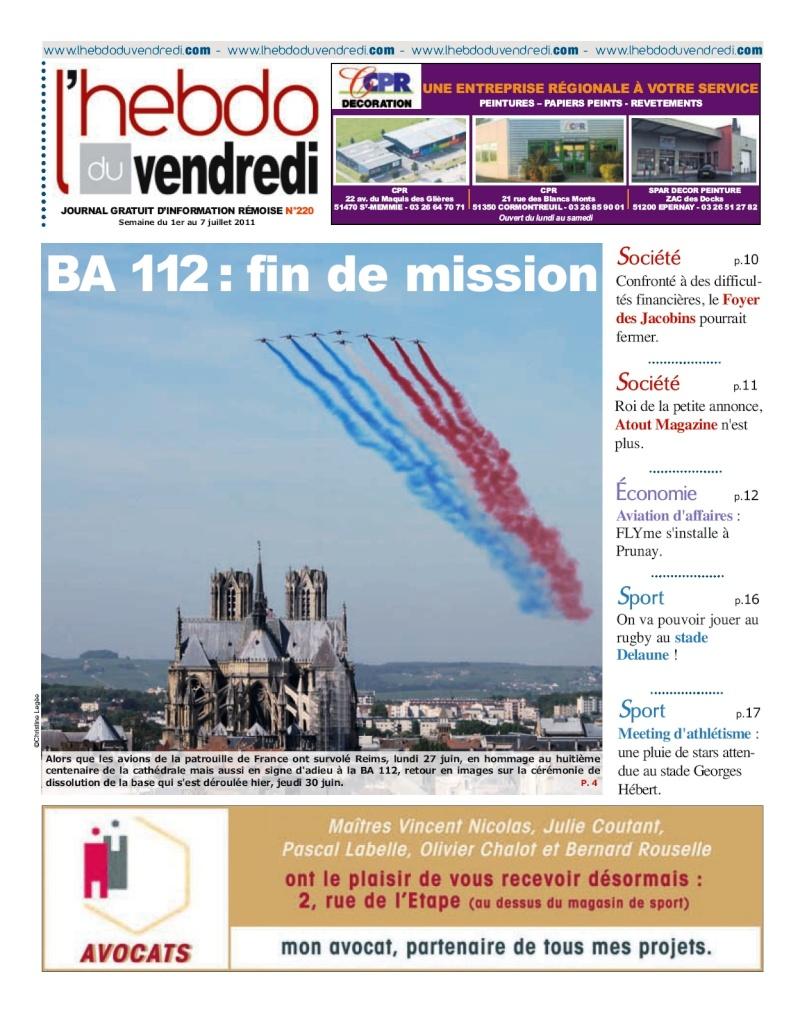 La Base Aérienne B.A. 112 Lhebdo12