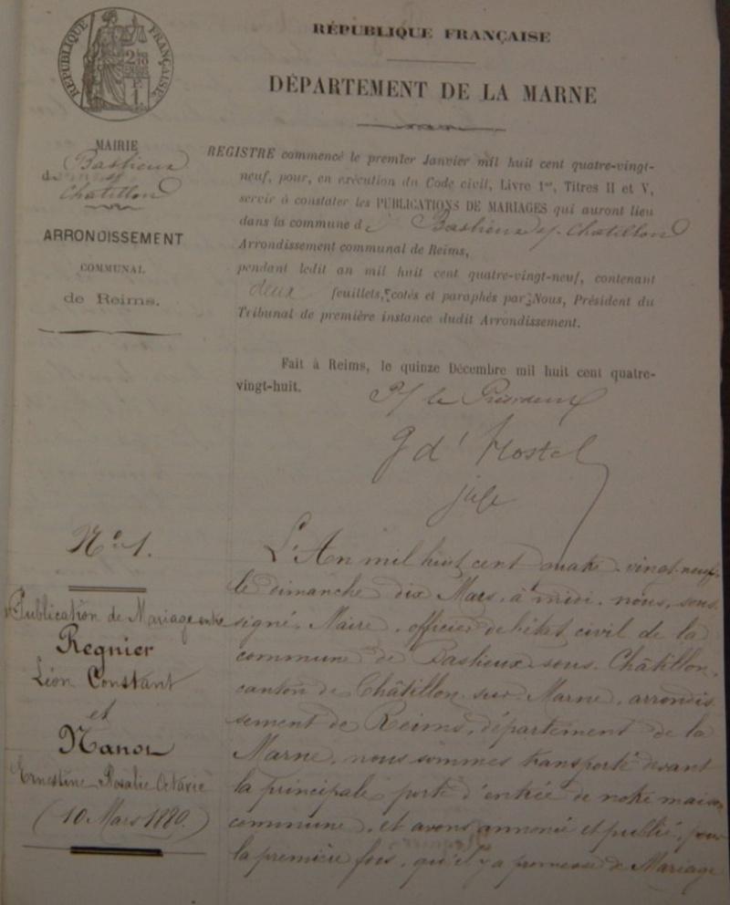 05 - Léon Constant REGNIER Mariag10