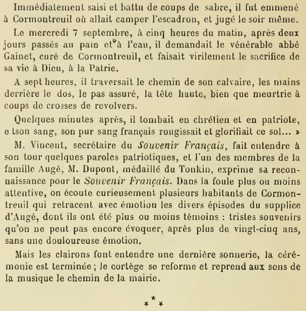 Les Victimes de Guerre de 1870 P38010