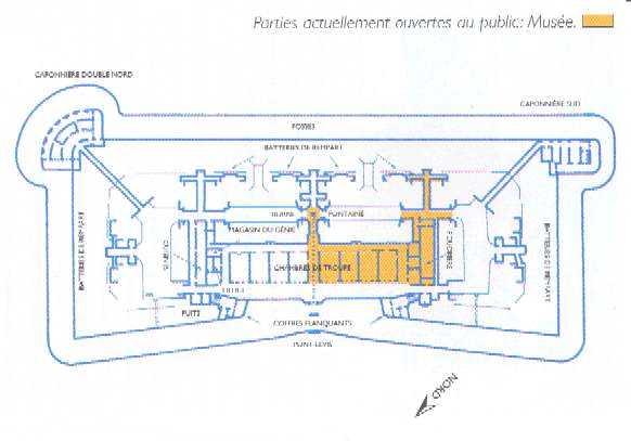Le Fort de la POMPELLE Plan11