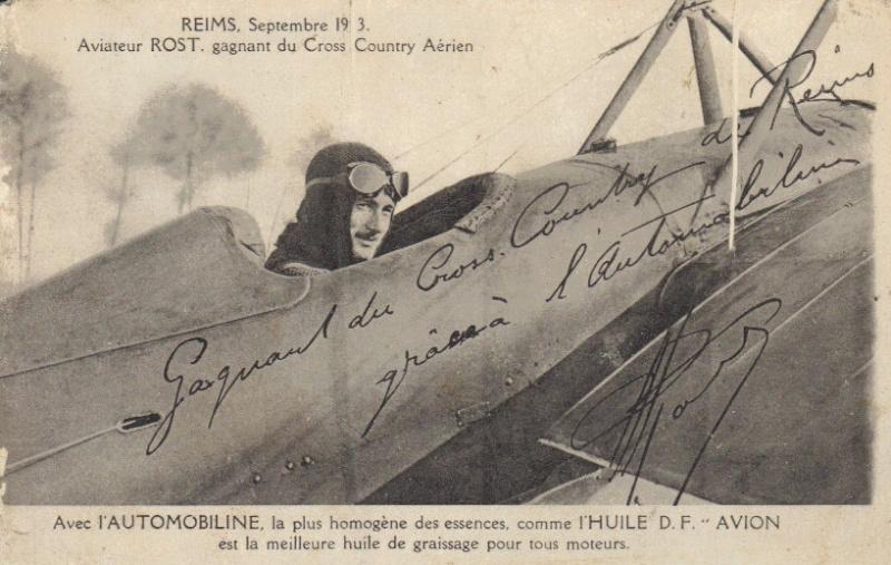 Les épreuves de Septembre 1913 Rost_v10