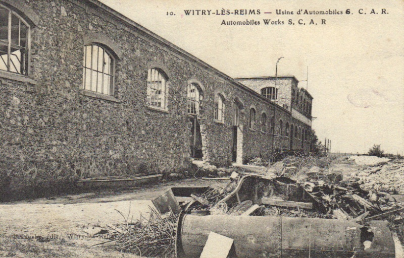 L'Usine Automobile SCAR de Witry-les-Reims Ruines10