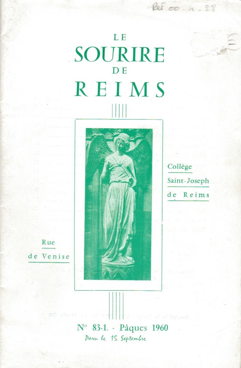 Le Sourire de Reims - Bulletin du Collège Saint-Joseph de Reims Sourir10