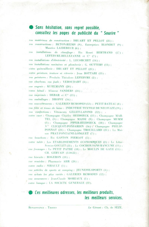 Le Sourire de Reims - Bulletin du Collège Saint-Joseph de Reims Sourir12