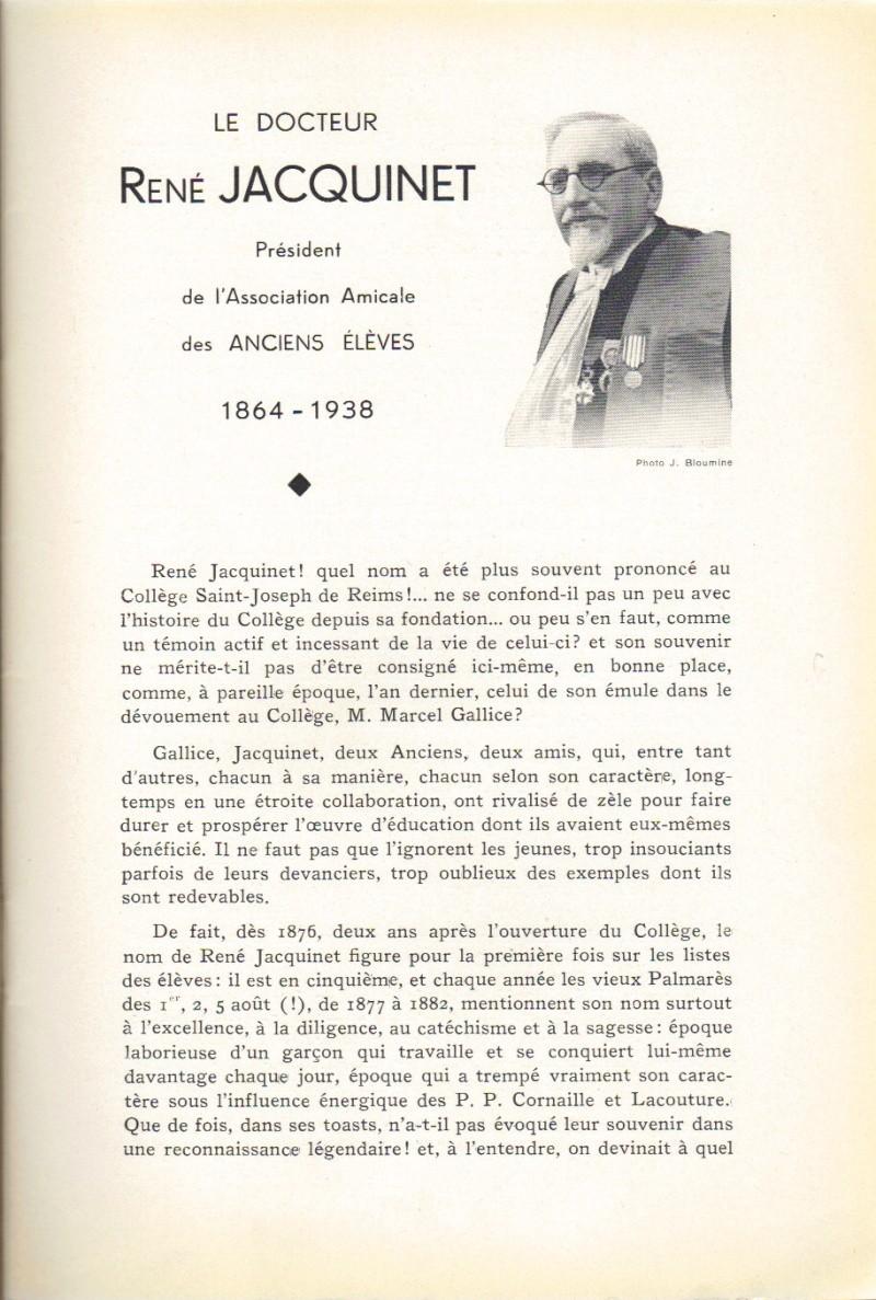 Le Sourire de Reims - Bulletin du Collège Saint-Joseph de Reims Sourir22