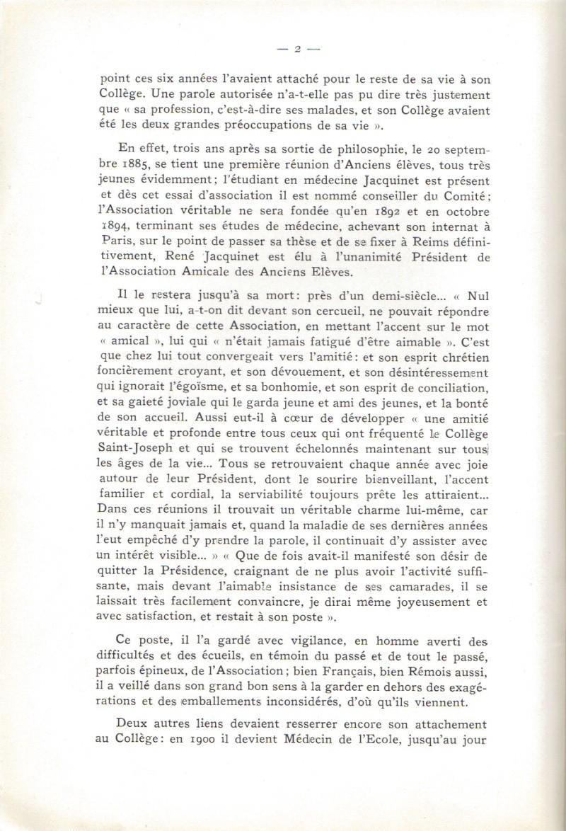 Le Sourire de Reims - Bulletin du Collège Saint-Joseph de Reims Sourir23