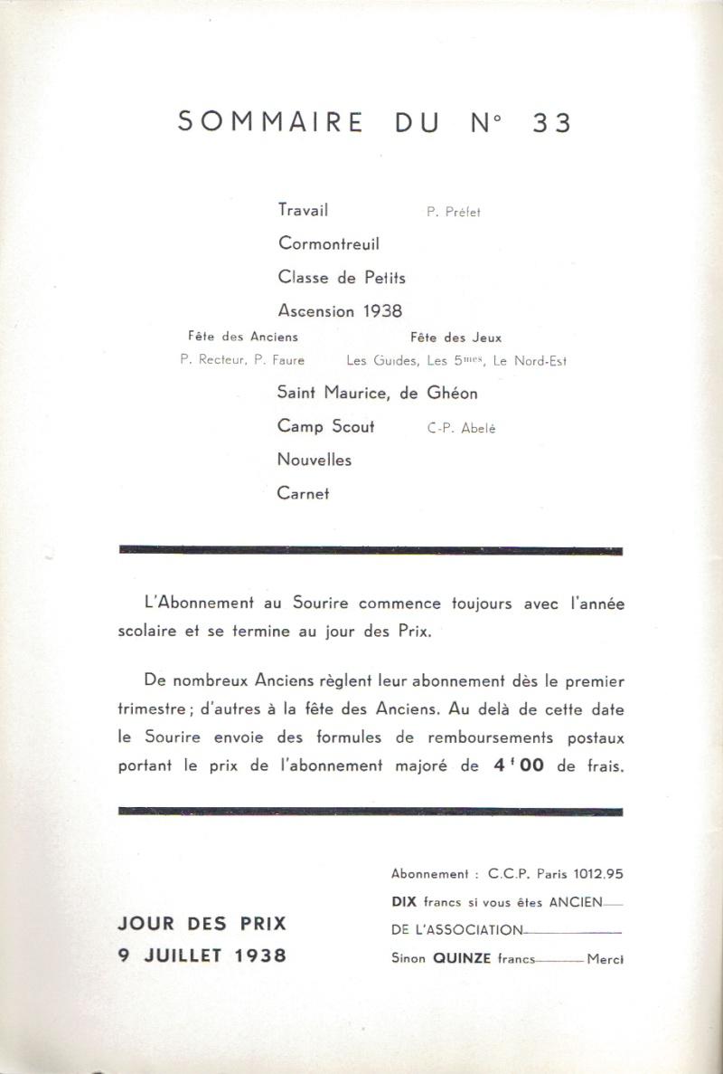Le Sourire de Reims - Bulletin du Collège Saint-Joseph de Reims Sourir25