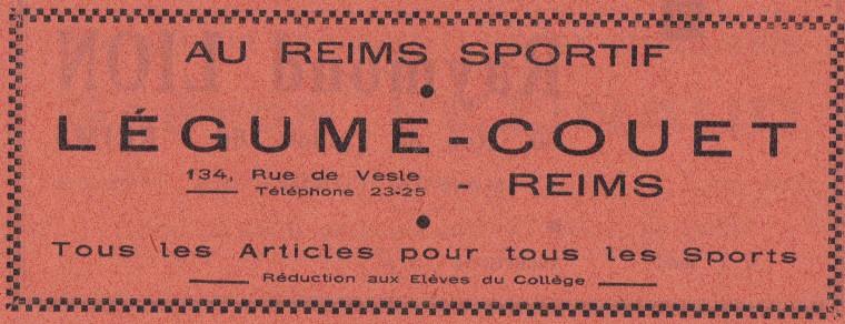 Le Sourire de Reims - Bulletin du Collège Saint-Joseph de Reims Sourir26