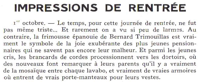 Le Sourire de Reims - Bulletin du Collège Saint-Joseph de Reims Sourir30