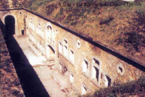 Le Fort de MONTBRE Vue_pl10