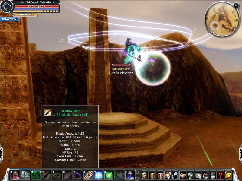 Level 9X, Force Archer Cabalv55