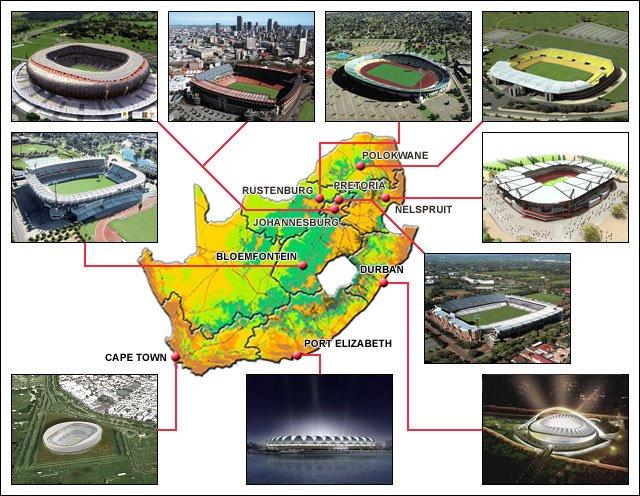 ملاعب جنوب افريقيا المنضمة لكاس العالم 358pb910