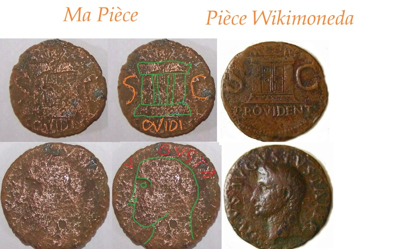(Ok) As du Divin Auguste - Rome 20-37 1210