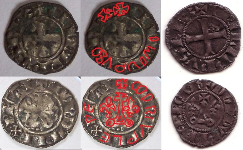 (Ok) Double Tournoi Philippe IV 1285-1314 1410