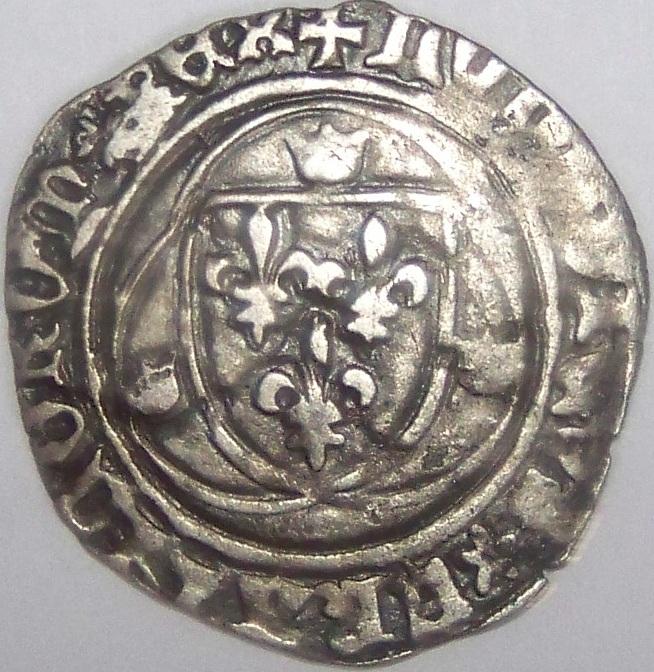 (Pour les Yeux) Blanc a la Couronne Louis XI 1461-1483 Blanc_10