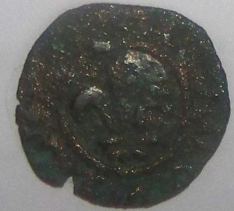 (D. Confirm) Monnaie Louis 1er Dauphin de France 1410-1415 Devant13