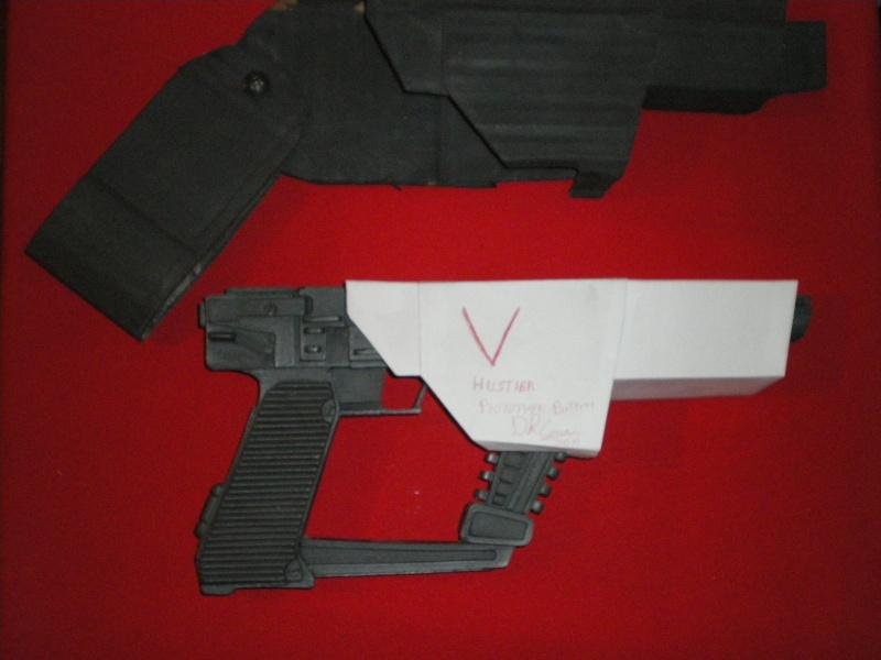 """ V "" Visiteur laser gun holster  Imgp5110"