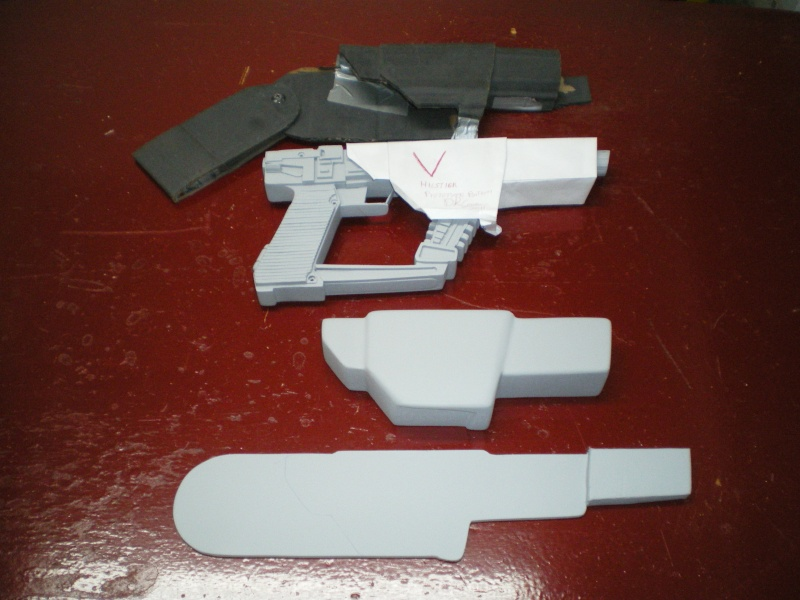 """ V "" Visiteur laser gun holster  Imgp5314"