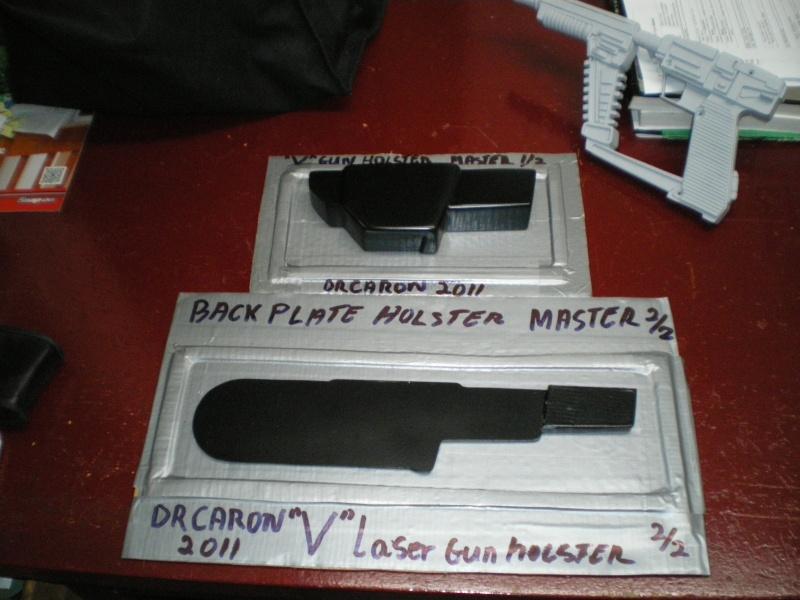 """ V "" Visiteur laser gun holster  Imgp5316"