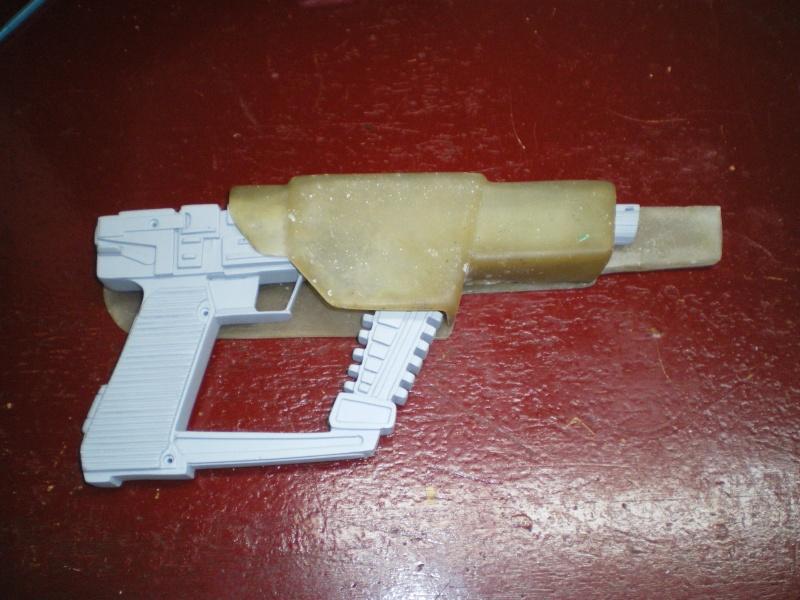""" V "" Visiteur laser gun holster  Imgp5325"