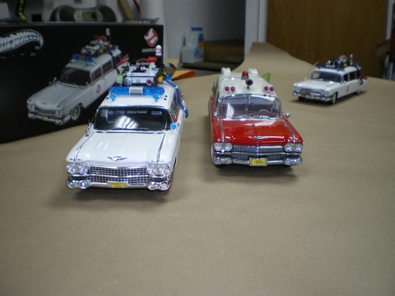 Mon Hotwheel 1/18 Ecto 1  de chez nice cars diecast   Imgp6123