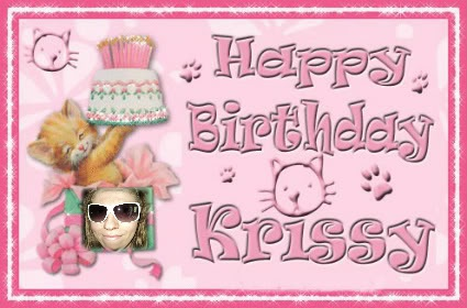 Happy Birthday, Krissy! Krissy13