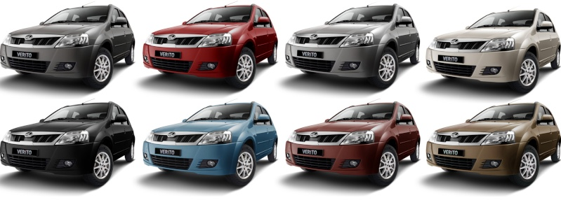 Mahindra launches New Verito (Refreshed) on 26th Jul'12 Colour10