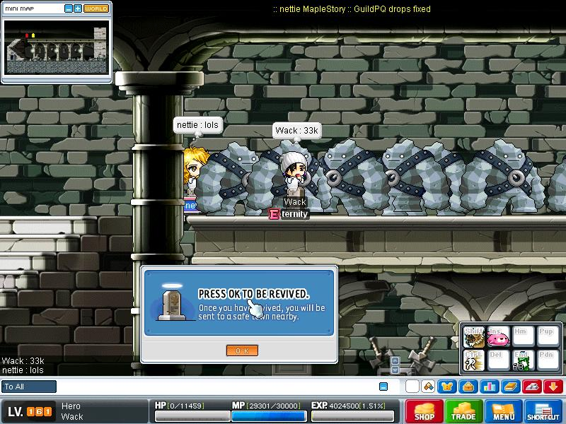 See the godly golems ._. Maple015