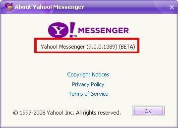 Thay đổi tiêu đề của Yahoo! Messenger Untitl10