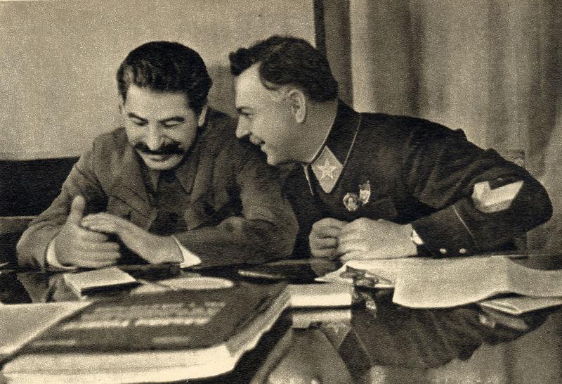 Purga en el Ejército Soviético (1) Stalin10