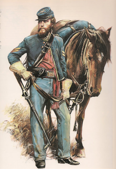 US Cavalry sergent (Romeo models) version BM Escane10