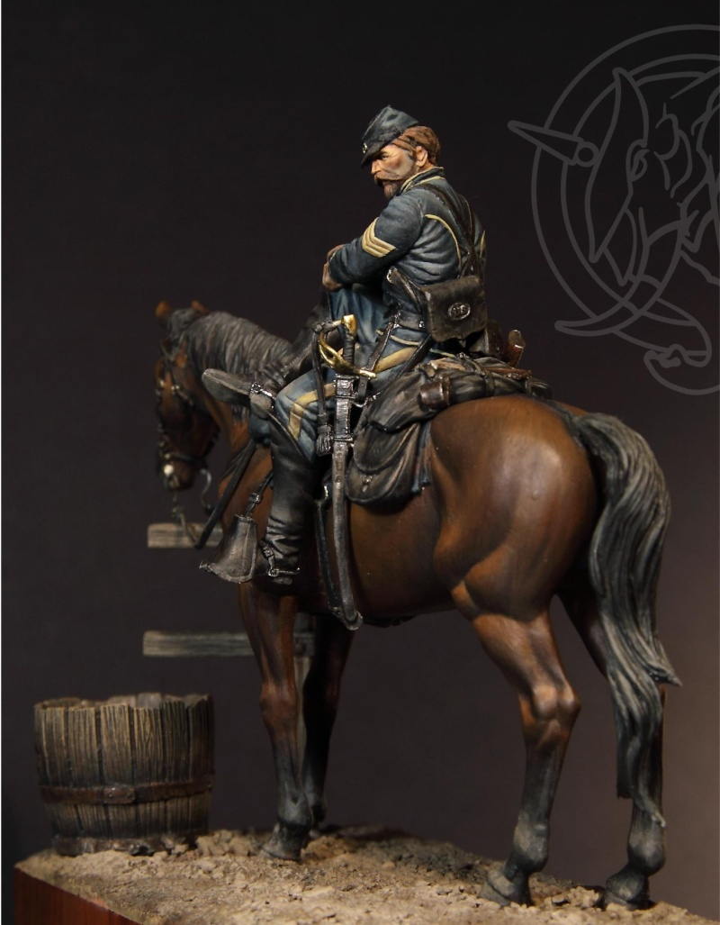 US Cavalry sergent (Romeo models) version BM Ser-we13