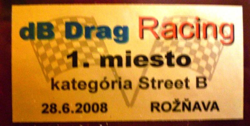 Môj uspech na Db Drag 20010