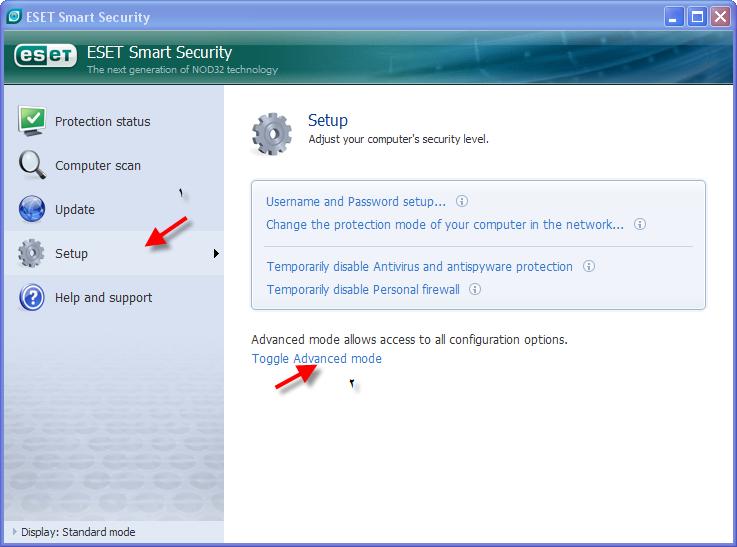 حصريا اخر اصدار معا الشرح والابديت ESET Smart Security&ESET NOD32 Antivirus v3.0.669 1210
