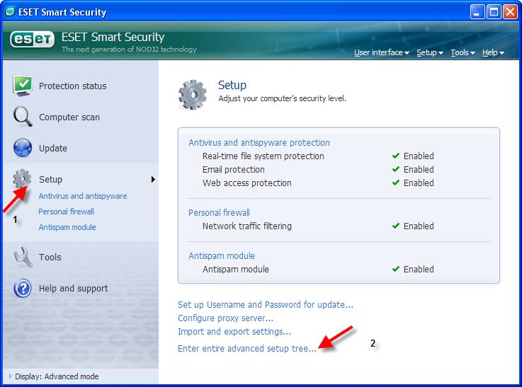 حصريا اخر اصدار معا الشرح والابديت ESET Smart Security&ESET NOD32 Antivirus v3.0.669 1410
