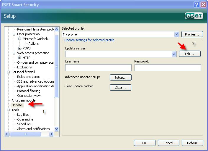 حصريا اخر اصدار معا الشرح والابديت ESET Smart Security&ESET NOD32 Antivirus v3.0.669 1510