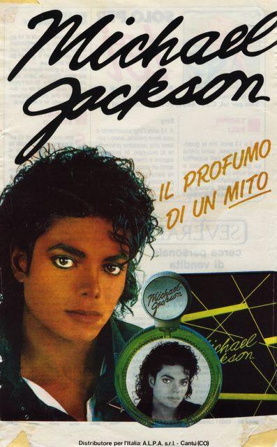 Foto pubblicità dei profumi di Michael Jackson Profum10