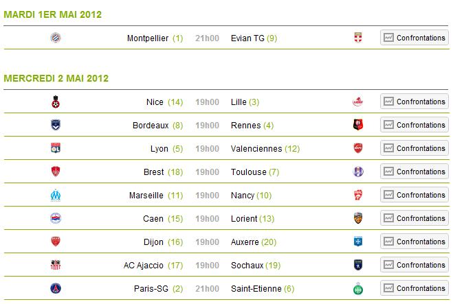 [Ligue 1 11 -12] 35ème journée Journe10